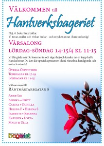 Vårsalong 2018 flyer